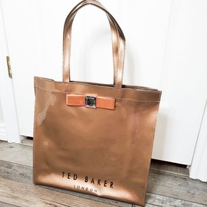 Ted baker icon bow tote bag